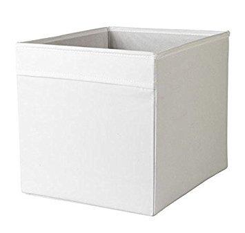 IKEA Drona Caja, Blanco, 2 unidades