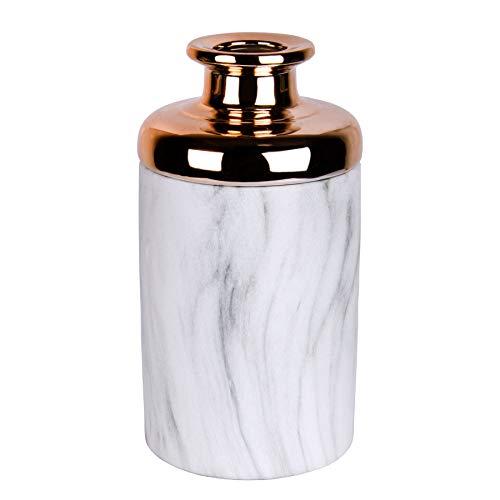 Kerzenhalter und Vase Juna in Kupfer & Gold (Vase (Kupfer))
