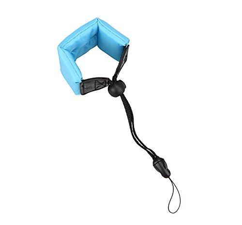 Shoot® Floating Foam Tragegurt wasserdichte Kamera Schwimmer Armtrageschlaufe Schwimmende Handschlaufe Schwimmhandschlaufe mit einstellbarem Armband, Blau