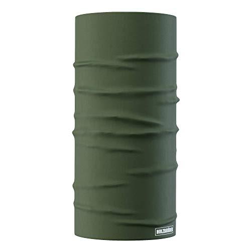 HOLZBRÜDER® Phantom Multifunktionstuch Bandanas für den Wald zum Holzmachen mit der Kettensäge oder fürs Hobby (Forest Green)