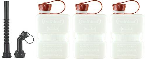 FuelFriend®-Plus Clear - Tanica da 1.0 litro + Tubo-Kit - 3 Pezzi per Un Prezzo Speciale