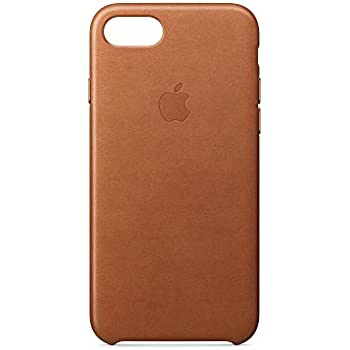 Apple MMY22ZM/A iPhone 7 Leather Hülle saddle braun