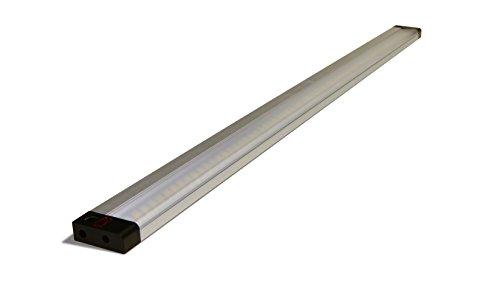 Müller-Licht LED Unterbauleuchte 11 Watt / 700 Lumen / 3000 Kelvin/Anschlussfertig mit 2 Sensoren / 80 cm / 57039
