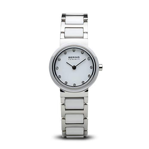BERING Damen-Armbanduhr Analog Quarz Edelstahl 10725-754