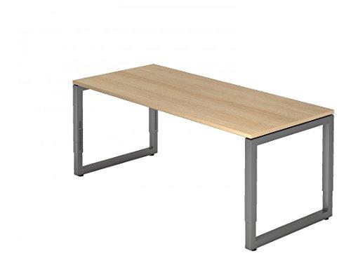 Schreibtisch DR-Büro - 180 x 80 cm - Bürotisch in 7 Farben erhältlich - höheneinstellbar 65-85...