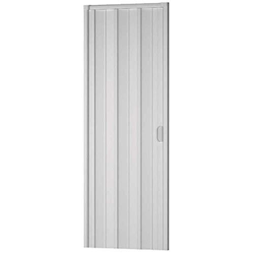 Dianhydro porta d'arredo per interno a soffietto bianco cm. 100 x 214