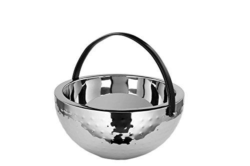 Fink 154015 BOL Punch-Bowl, Edelstahl, Silber, 31 x 31 x 13 cm