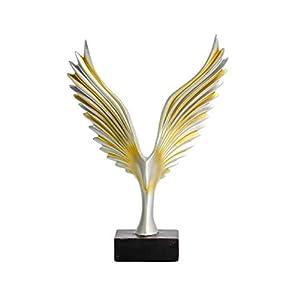 SUPVOX Harz Vogel Figur Statue Abstraktion Adler Modell Skulptur Tisch Schreibtisch Tier Ornament für Home Office Decor