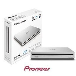 Pioneer Bdr-xs06t White Slot Load 8x Slim Ext Portable Usb 3.0 Blu-ray Writer - Retail