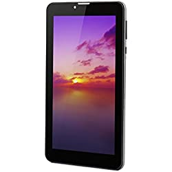 Android Tablet 7 Pulgadas Quad Core 8G Memory Tablet PC WiFi GPS Camera and Dual SIM Card Slots Built-in Unlimited Internet Type 3G Tabléfono - Gris