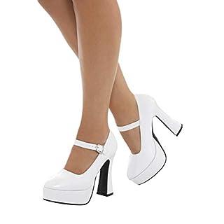 Smiffys 43075M 70's Ladies Platform Shoe (UK 5/US 8)