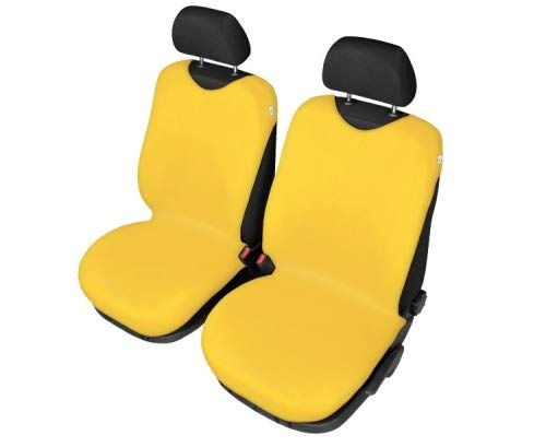 Sitzbezüge Shirt Cotton - Gelb - 2stk Universelle T-Shirt Sitzbezüge Autositzbezüge | BD-SHIRT-GL-132