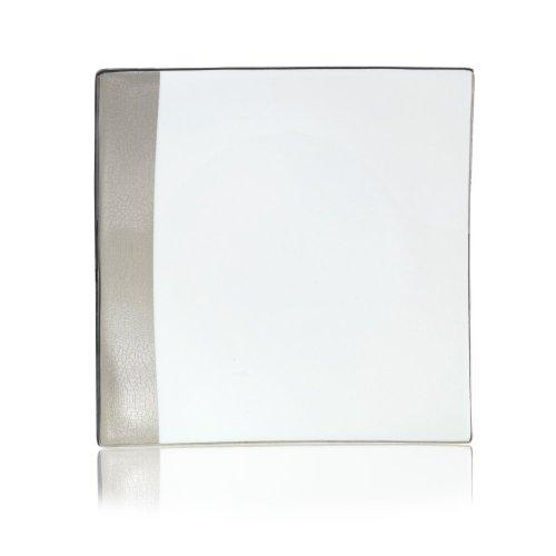 MIKASA Shimmer Quadratischer Salatteller, 21cm Mikasa-square Plate
