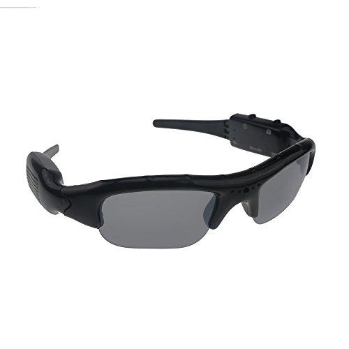 Ecloud Shop Spy Gafas de sol DV oculta Camara de video Espia negro 4032*3024