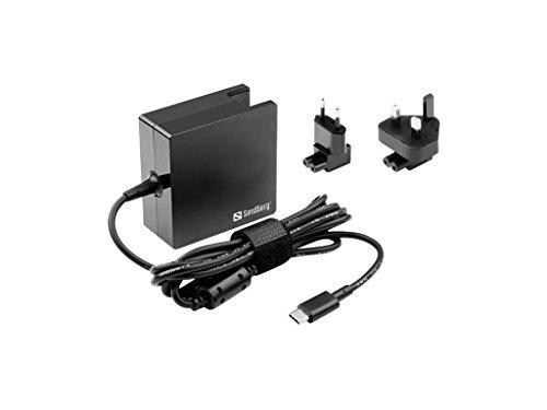 Preisvergleich Produktbild Sandberg usb-c AC Charger 65Watt EU + UK–Adapter DE PUISSANCE & Wechselrichter (100–240, 50/60, 65W, Innen, Laptop, Überladeschutz, Kurzschluss)