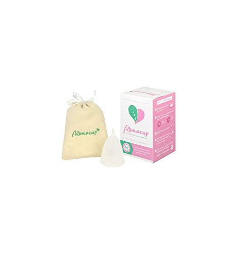 Mimacup - Copa menstrual Transparente Talla S