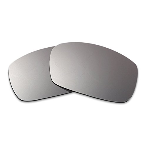 7fb3a061e06 Hkuco Mens Replacement Lenses For Spy Optic Dirk Sunglasses Titanium Mirror  Polarized