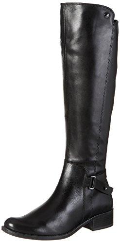 Caprice Damen 25523 Stiefel, Schwarz (22), 39 EU (Leder Flache Schuhe)