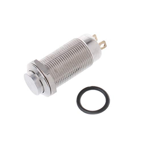 Automatische Line Controller (GROOMY (1 stück 12mm wasserdicht selbstsichernde hohe runde metallknopf Auto Horn automatische sperre)