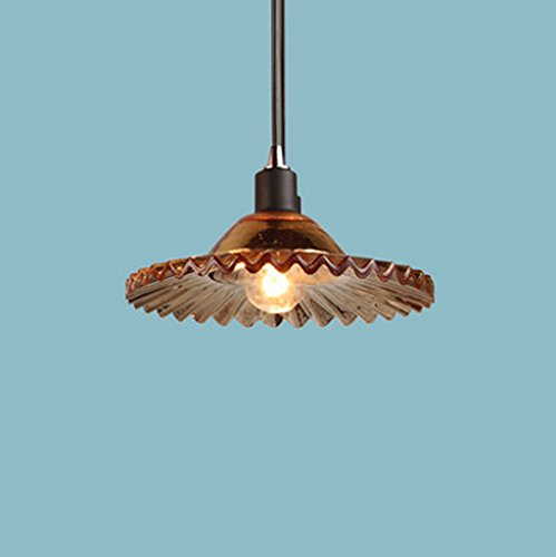 Nordic americano - stile rustico semplici Lampadari Retro vetro industriale