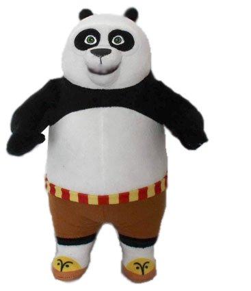 "KUNG FU PANDA - Peluche di carattere Panda ragazzo ""Po"" (11""/28cm) del film ""KUNG FU PANDA 3"" 2016 - Qualità Super Soft"