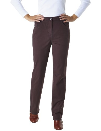 Pioneer - Pantaloni, Donna Marrone (Braun (30 mokka))