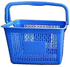 Kermesse Shopping Basket Blue with Sturdy Handle