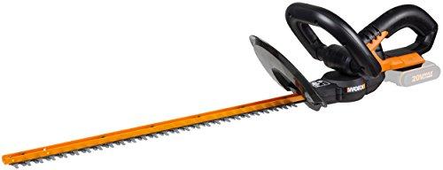 Worx WG259E.9 Akku Heckenschere 20V, Garten Heckenschere mit geringer Vibration für genaues Arbeiten, Heckenschneider inkl. Schutzköcher - ohne Akku und Ladegerät