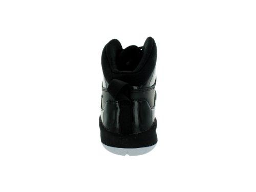 Nike Team Hustle D 6 (Gs), Chaussures de basketball mixte enfant Black/Black/White
