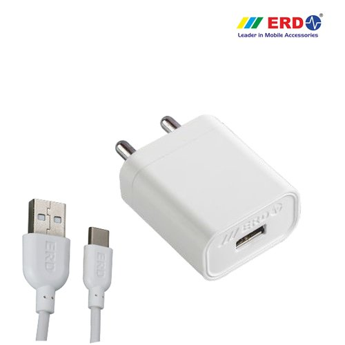 Generic ERD TC-50 5V 2Amp Super Fast Charger with USB Cable