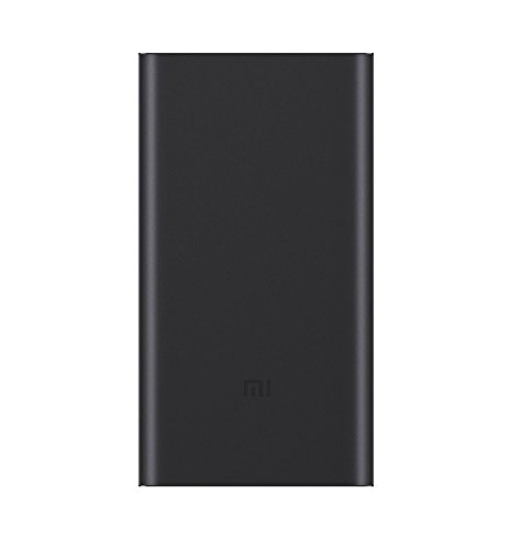 Xiaomi Mi 10000mAh Power Bank 2 portable battery charger, Ultra-compact and lighter Two-way fast charging 10000mAh External Battery for Xiaomi note 2 MIX, iPhone 7/6 / 6s and more, of payment,dark blue