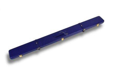 Echt Leder-Handarbeit-Queue-Koffer für 3/4-geteilte Snooker-Queues und Verlängerung