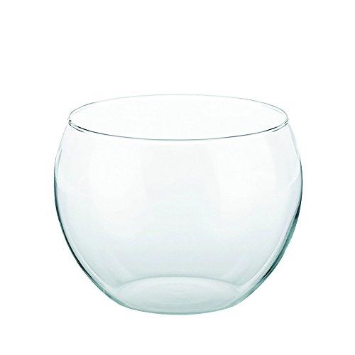 feuerzangenbowleset Kela 66164 Punsch-/ Bowle-Topf, Glas, 22 cm Durchmesser, 3,5 l