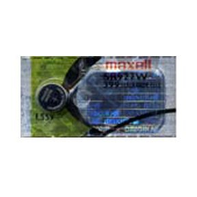 Maxell 399 SR927W SB-BP Knopfzelle / Uhrenbatterie (Silberoxid, 1,55 V), 1 Stück