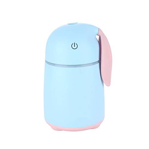 Swei Meng Pet Mini humidificador de Escritorio Coche humidificador USB hogar silencioso atomizador Creativo Regalos,Blue