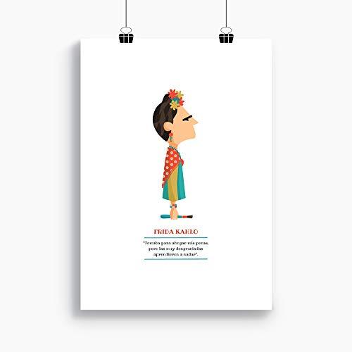 """Ilustración """"Frida Kahlo"""
