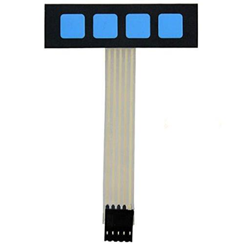 Super Slim 1x 4Matrix 4Key interruptor membrana