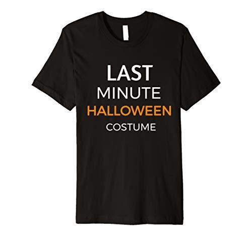 Last Minute Halloween Kostüm Funny T-Shirt Gruppe Familien