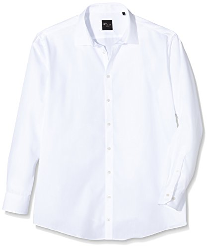 Venti - Chemisier Business - coupe cintrée - Col Chemise Classique - Manches Longues Homme Blanc (Weiß 0)