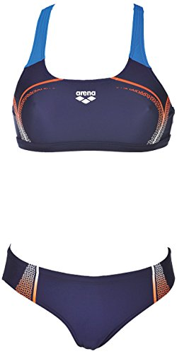 arena Damen Sport Modular Bikini, Navy-Mango, 44