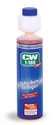 Dr. Wack CW1:100 Super Scheibenreiniger für die Scheibenwaschanlage, 250 ml