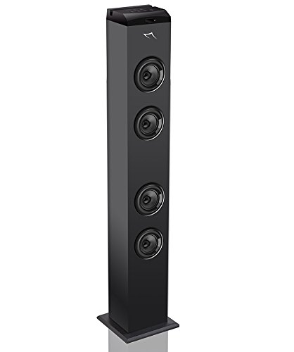 Sytech syx260bt - Torre audio con Bluetooth, Nero