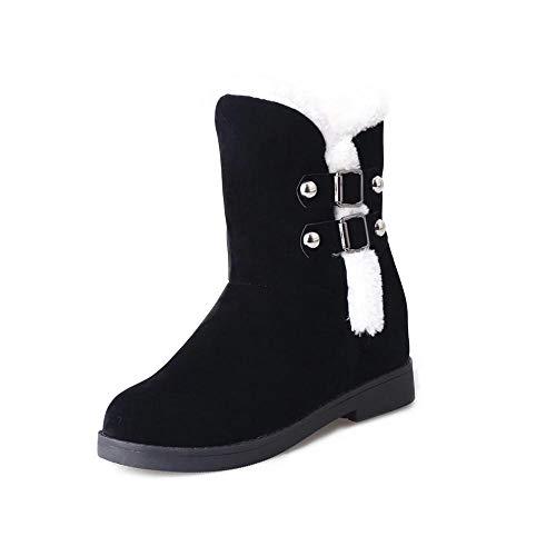 Yesmile Zapatos para Mujer❤️Zapatos Mujeres Calientes Botas de Nieve Plataforma Botas de Tobillo Invierno Zapatos de Mujer Slip Zapatos