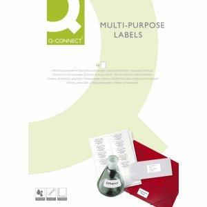 Preisvergleich Produktbild Connect Etiketten Inkjet/Laser/Kopier 70,0x37,0mm VE=2400 Stück weiß