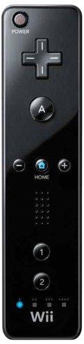 Nintendo Wii - Remote Plus, schwarz [Produkte ohne Originalverpackung]