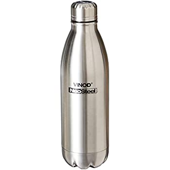 2129a9677 Buy vinod cookware Neo Stainless Steel Classic Water Bottle (750 ml ...