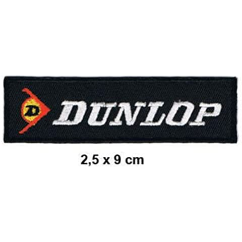 DUNLOP Reifen Racing Wheels Motorsport Formula 1 F1 Racing Race jacket t shirt Polo Patch Sew Iron on Embroidered by Rcing