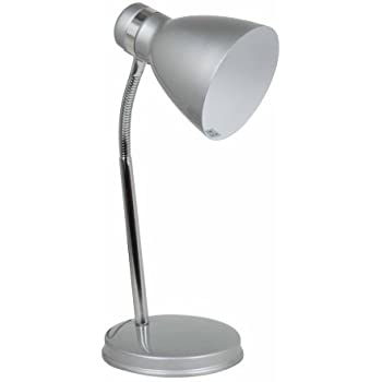 Status 60 Watt Madrid Flexi Desk Lamp, Silver