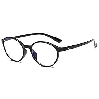 VEVESMUNDO® Lesebrillen Damen Herren Spring Scharnier Augenoptik Flexibel Brille Lesehilfe Sehhilfe ArbeitsplatzbrilleVollrandbrille Schwarz Braun Schildpatt brille (SCHWARZ, 4.0)