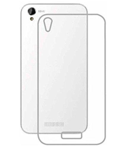 Tech Attires Lava Iris X1 Mini Transparent Ultra Protection Rubberised Soft Back Phone Cover for Lava Iris X1 Mini